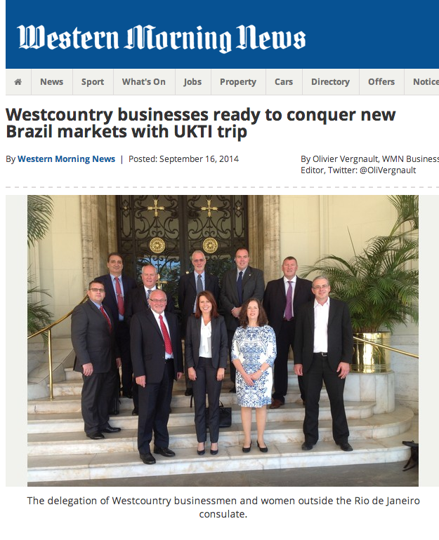 Famico in Brazil with UK trade delegation