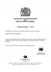 Famico Registration
